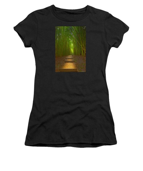 A Path Less Traveled Women's T-Shirt (Athletic Fit)