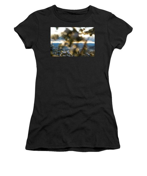 A Peek At Taos Mesa Women's T-Shirt