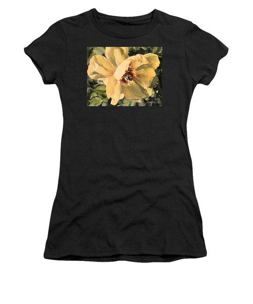 A Peony For Miggie Women's T-Shirt (Athletic Fit)
