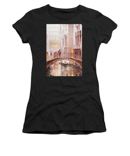 A Perfect Afternoon In Venice Women's T-Shirt (Athletic Fit)