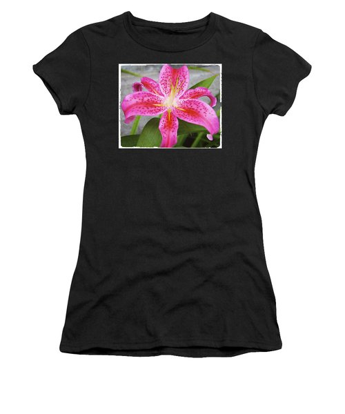 A Pink So Vivid I Can Almost Taste It Women's T-Shirt (Athletic Fit)