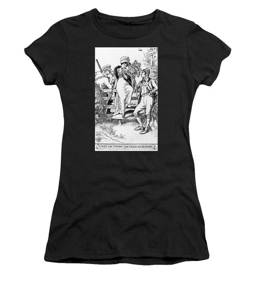 A Posy For Mayday And A Poser For Britannia Women's T-Shirt