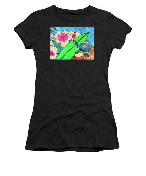 A Quiet Conversation Women's T-Shirt (Athletic Fit)