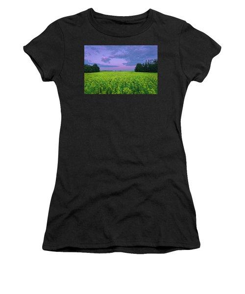A Quiet Evening In Alberta Women's T-Shirt