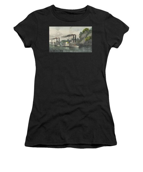 A Race On The Mississippi, 1870 Women's T-Shirt