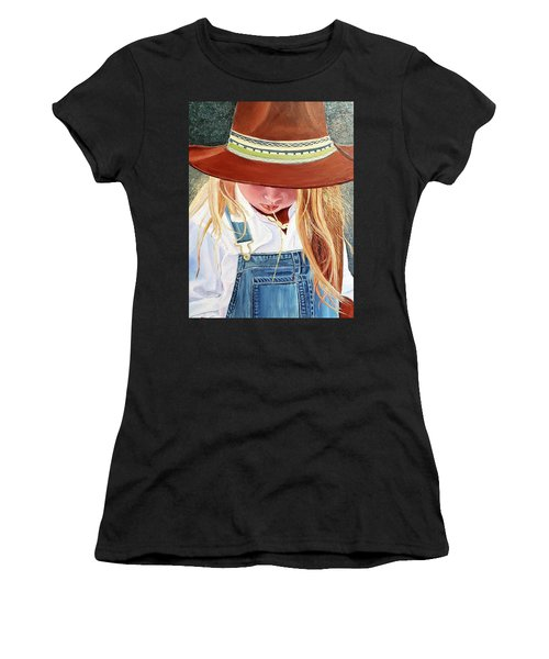 A Real Cowgirl Women's T-Shirt (Athletic Fit)