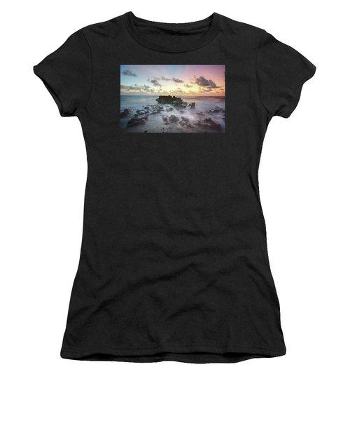 A Rocky Sunrise. Women's T-Shirt