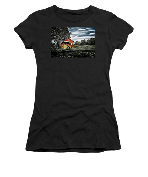 A Ruskin Shed Women's T-Shirt (Athletic Fit)