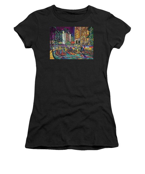 A San Antonio Christmas Women's T-Shirt
