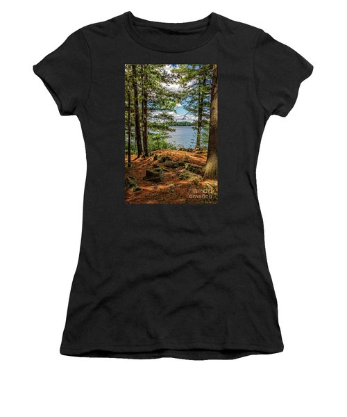 A Secluded Spot Women's T-Shirt (Athletic Fit)
