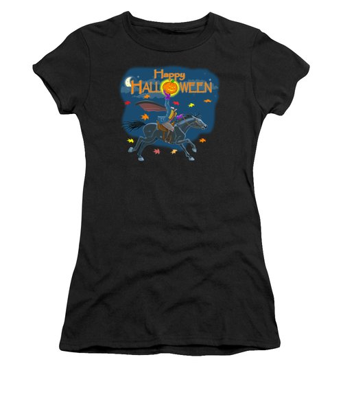 A Sleepy Hollow Halloween Women's T-Shirt