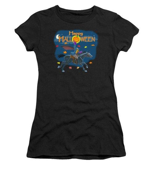 A Sleepy Hollow Halloween Women's T-Shirt (Athletic Fit)