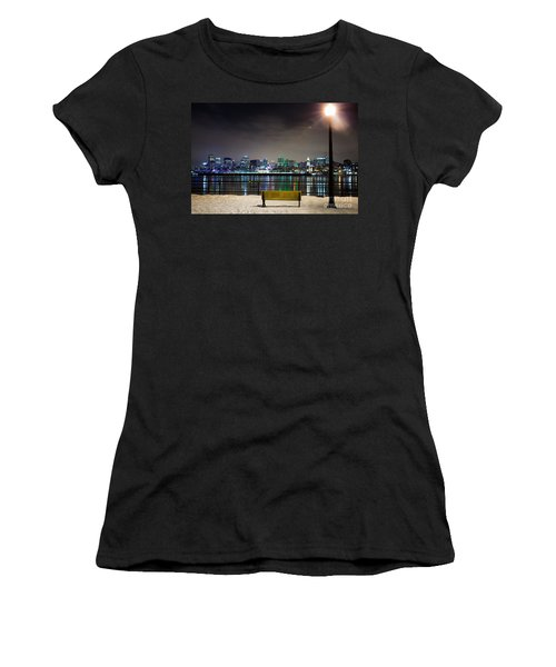 A Snowy Night In Montreal  Women's T-Shirt