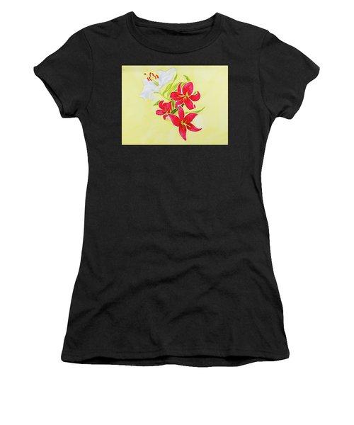 A Study Of Lilies Women's T-Shirt