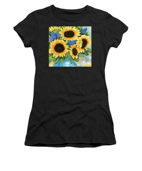 A Sunny Arrangement Women's T-Shirt (Athletic Fit)