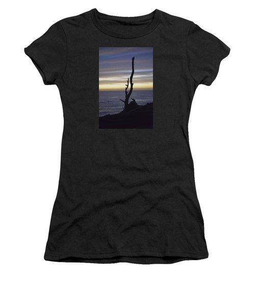 A Sunset Women's T-Shirt (Junior Cut) by Alex King