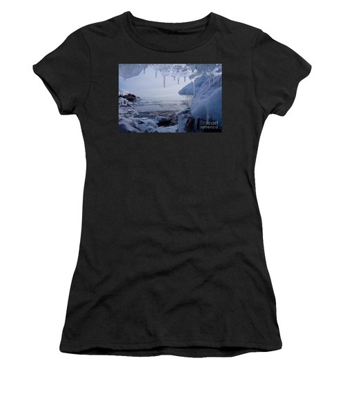 A Superior Ice Cave Women's T-Shirt (Athletic Fit)