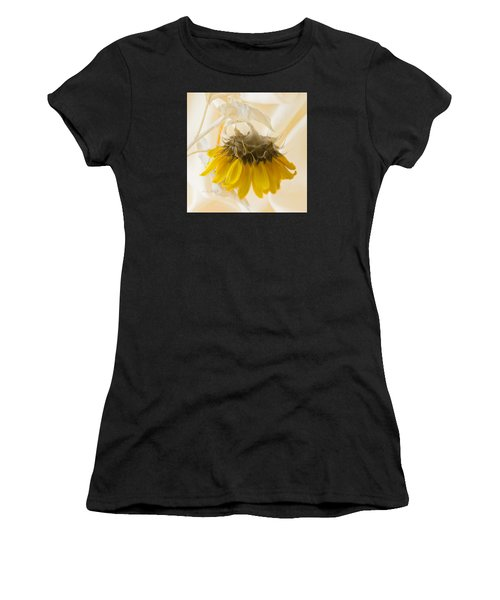 A Suspended Sunflower Women's T-Shirt (Athletic Fit)