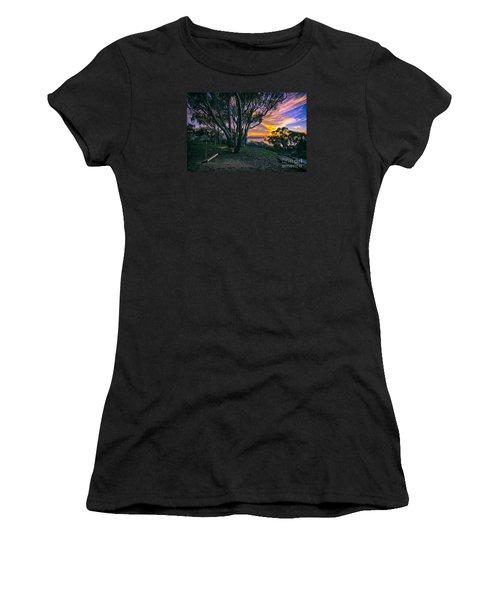 A Swinging Sunset From The Secret Swings Of La Jolla Women's T-Shirt