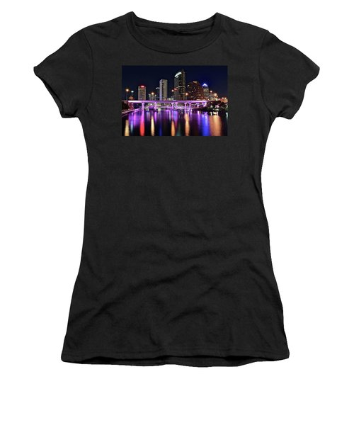 A Tampa Night Women's T-Shirt (Athletic Fit)