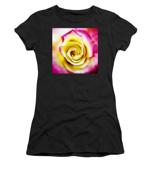 A Touch Of Pink Women's T-Shirt (Athletic Fit)