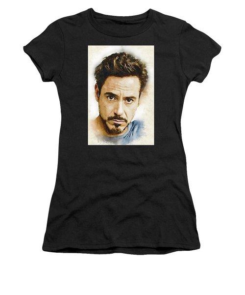 A Tribute To Robert Downey Jr. Women's T-Shirt