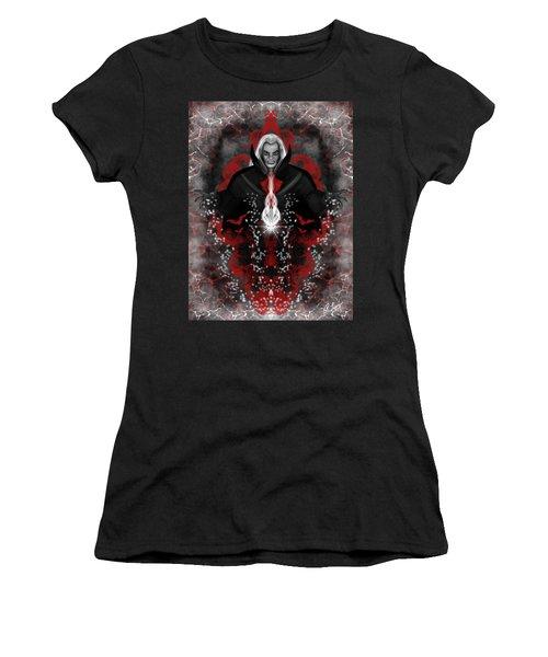 A Vampire Quest Fantasy Art Women's T-Shirt (Athletic Fit)