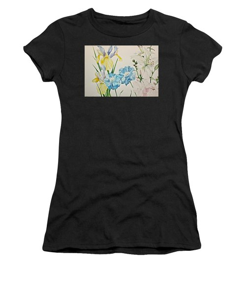 A Variety-posthumously Presented Paintings Of Sachi Spohn  Women's T-Shirt