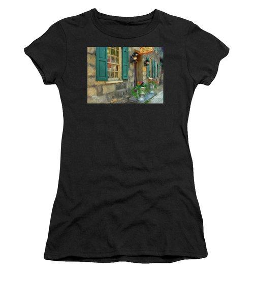A Victorian Tea Room Women's T-Shirt