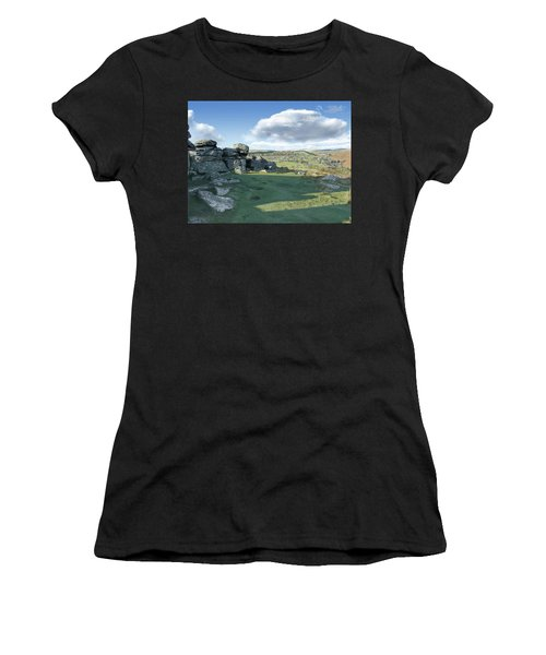 A View From Combestone Tor Women's T-Shirt