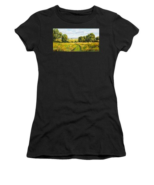 A Walk Thru The Fields Women's T-Shirt