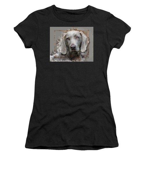 A Weimaraner Women's T-Shirt
