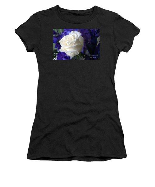 A White Rose Women's T-Shirt