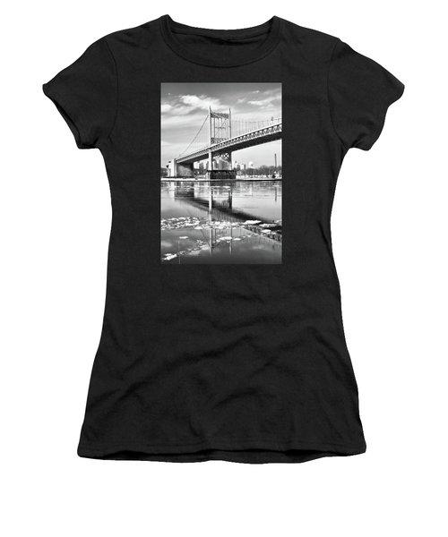 A Winter Portrait Of The Triboro Bridge Women's T-Shirt