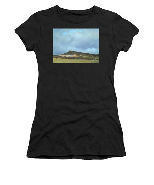 A Wintry Day In Abiquiu Women's T-Shirt (Athletic Fit)