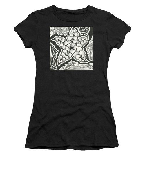 A Woman's Heart Women's T-Shirt (Junior Cut) by Jan Steinle