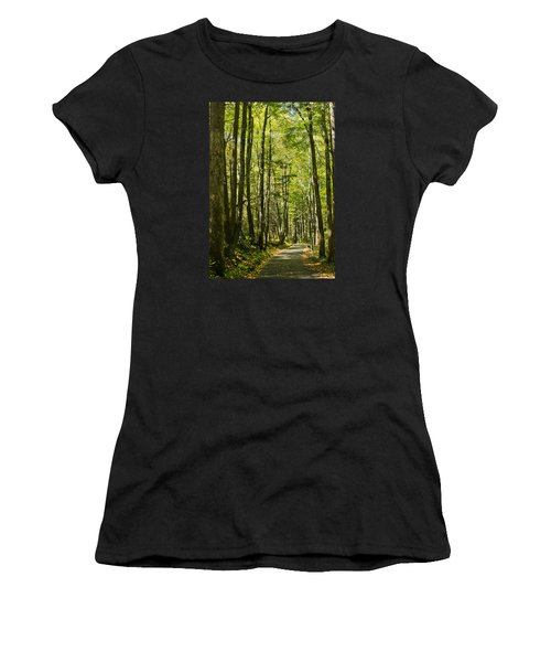 A Woodsy Trail Women's T-Shirt (Athletic Fit)