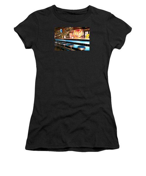A1 Diner In Gardiner, Maine Women's T-Shirt (Athletic Fit)