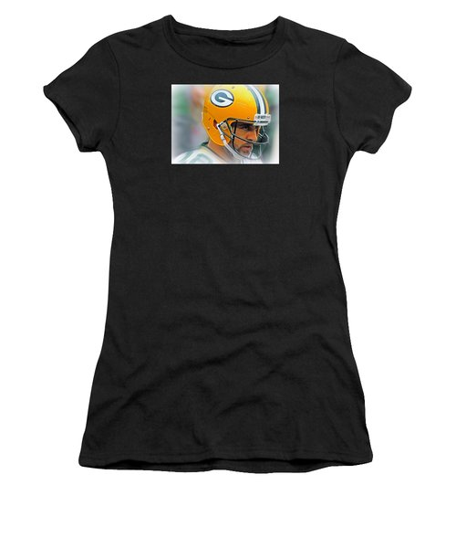Aaron Rodgers Women's T-Shirt (Athletic Fit)