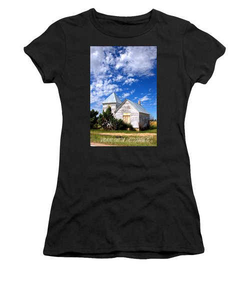 Abandoned Building Women's T-Shirt (Athletic Fit)