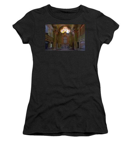 Abandoned Chapel Of An Important Liguria Family I - Cappella Abbandonata Di Famiglia Ligure 1 Women's T-Shirt