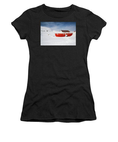 Abandoned Fishing Boat Women's T-Shirt