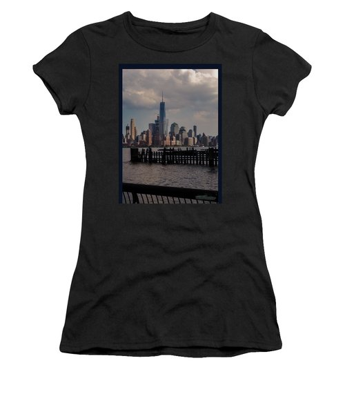 Abandoned Hoboken Pier Women's T-Shirt (Athletic Fit)