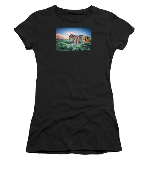 Abandoned In America Women's T-Shirt (Athletic Fit)