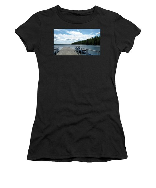 Abandoned Jetty Women's T-Shirt (Athletic Fit)