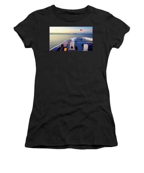 Aboard The Chi-cheemaun Women's T-Shirt