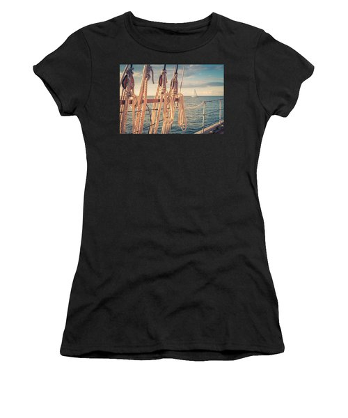 Aboard The Edith M Becker Women's T-Shirt