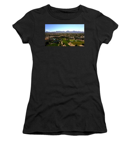 Above Women's T-Shirt (Athletic Fit)