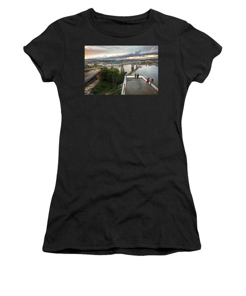 Above The Bluff, Musuem View Women's T-Shirt (Athletic Fit)