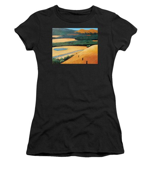Above The Highway Women's T-Shirt (Athletic Fit)